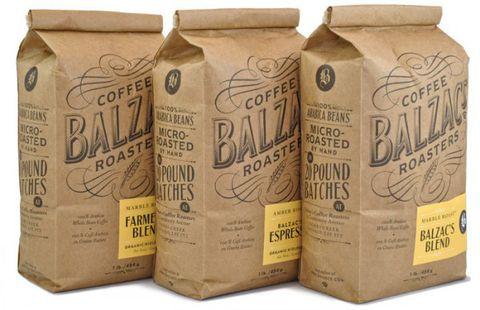 Bao bì cà phê giấy Kraft