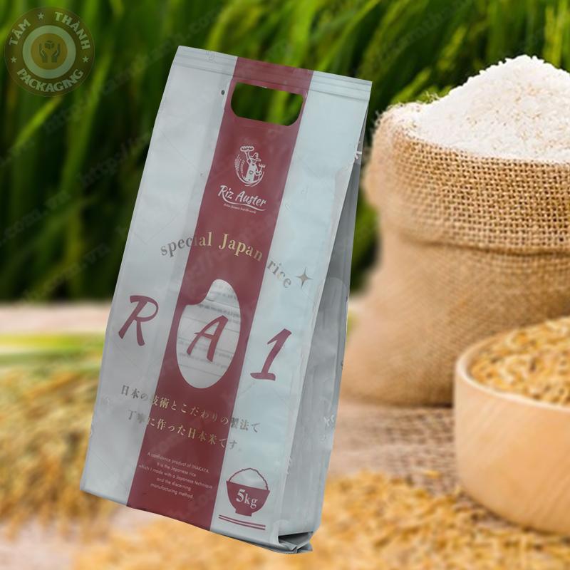 bao bì đựng gạo RA1
